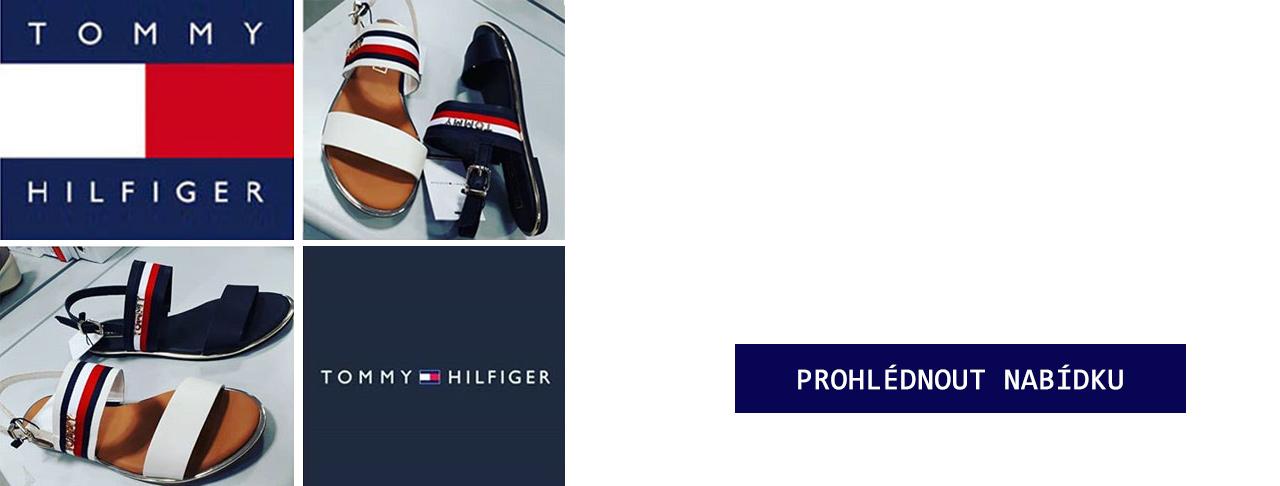 ad788d14ad Nová kolekce obuvi TOMMY HILFIGER